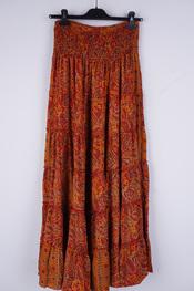 Garde-robe - Lange Rok - Donker oranje