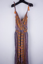 Garde-robe - Lang kleed - Oranje-paars
