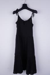 Soya - Lang kleed - Zwart