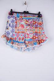 Garde-robe - Short - Blauw-roze