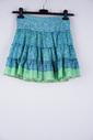 Garde-robe - Korte Rok - Groen-blauw