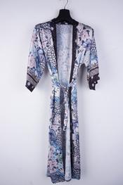 Garde-robe - Gilet - Zwart-blauw