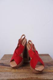 Garde-robe - Sandalen - Rood