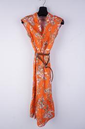Amelie-amelie - Lang kleed - Oranje