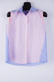 Studio It - Top - Blauw-roze