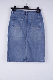 Garde-robe - Halflange Rok - Jeans