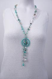 Garde-robe - Halsketting - Turquoise