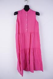 Amelie-amelie - Lang kleed - Fushia