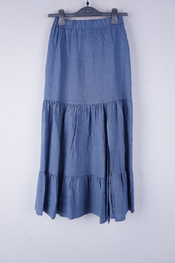 Amelie-amelie - Lange Rok - Blauw