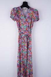 Amelie-amelie - Lang kleed - Paars