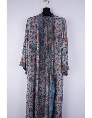 Garde-robe - Gilet - Blauw-grijs