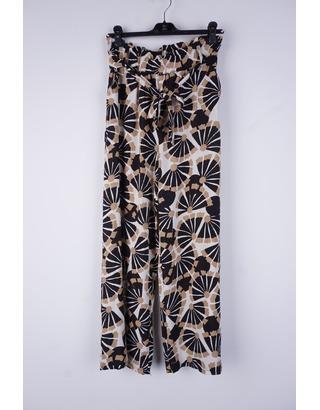 Garde-robe - Lange Broek - Zwart-beige