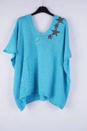 Garde-robe - Pull - Turquoise