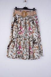 Garde-robe - Halflange Rok - Beige