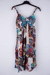 Garde-robe - Halflang Kleedje - Zwart-wit