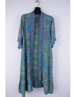 Garde-robe - Gilet - Groen-blauw
