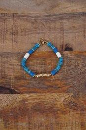 Garde-robe - Armband - Blauw