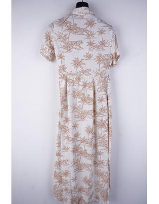 Garde-robe - Lang kleed - Beige