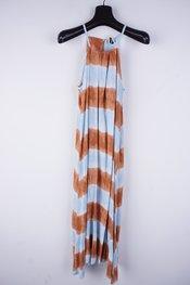 Garde-robe - Lang kleed - Blauw-bruin