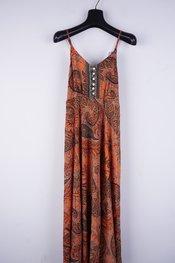 Garde-robe - Lang kleed - Oranje