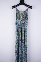 Garde-robe - Lang kleed - Groen-blauw
