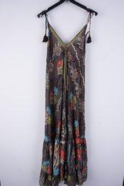 Garde-robe - Lang kleed - Grijs