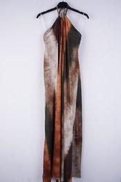 Garde-robe - Lang kleed - Kaki