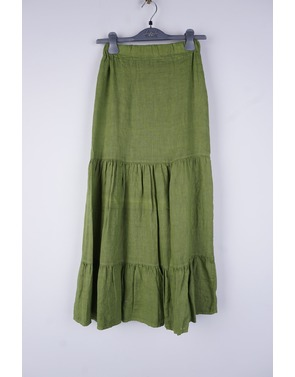 Amelie-amelie - Lange Rok - Groen