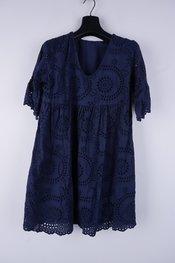 Garde-robe - Halflang Kleedje - Marine