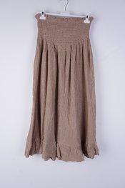 Garde-robe - Lange Rok - Camel
