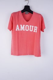 Garde-robe - T-shirt - Coraal