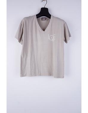Garde-robe - T-shirt - Taupe