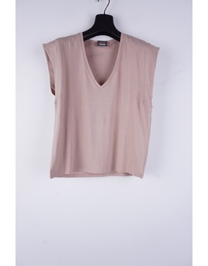 Garde-robe - T-shirt - Oud roze