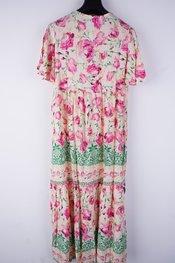 Garde-robe - Lang kleed - Roze-beige