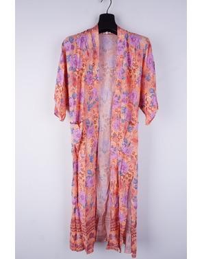 Garde-robe - Kimono - Oranje-paars