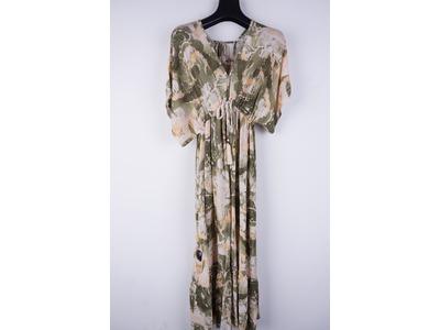 Garde-robe - Lang kleed - Beige-groen