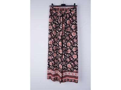 Garde-robe - Lange Broek - Zwart-roze