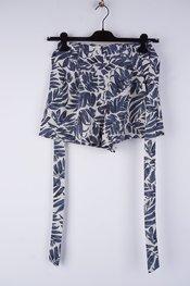 Garde-robe - Short - Blauw-beige