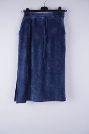 Amelie-amelie - Halflange Rok - Blauw