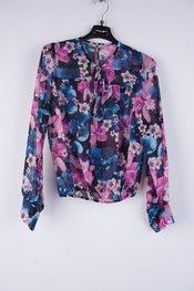 Rinascimento - Top - Blauw-roze