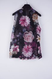 Rinascimento - Top - Zwart-roze