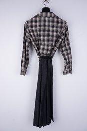 Amelie-amelie - Lang kleed - Zwart-beige