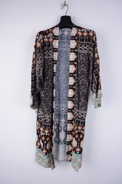 Garde-robe - Gilet - Zwart-groen