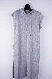 Amelie-amelie - Lang kleed - Grijs