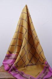 Rinascimento - Sjaals - Geel-roze