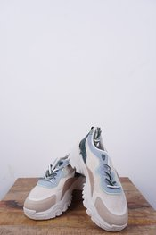 Garde-robe - Sneakers - Blauw-beige