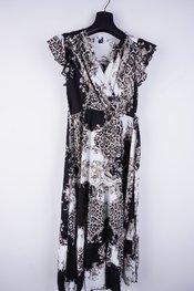Garde-robe - Lang kleed - Zwart-wit