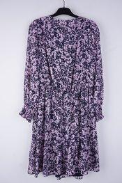 Senso - Halflang Kleedje - Blauw-roze