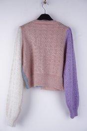 Garde-robe - Gilet - Blauw-roze