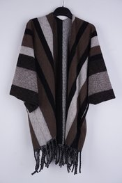 Garde-robe - Poncho - Bruin
